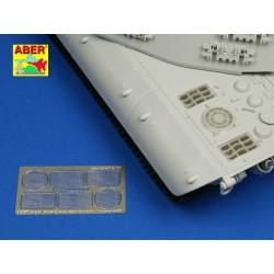 EDUARD FE972 Photo Etched 1/48 La-5FN seatbelts STEEL For Zvezda