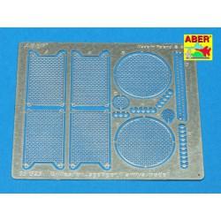 EDUARD SS651 Photo Etched 1/72 Spitfire Mk. IX radiator grilles For Eduard