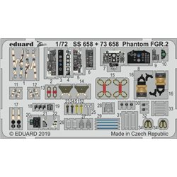 EDUARD SS658 Photo Etched 1/72 Phantom FGR.2 For Airfix