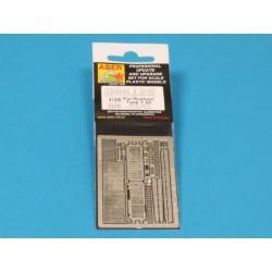 EDUARD 644001 1/48 Löök - Prepainted Dashboard/Seat Belts Bf 109G-6 For Tamiya