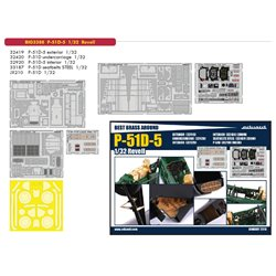 EDUARD BIG3388 1/32 Photo Etched P-51D-5 For Revell