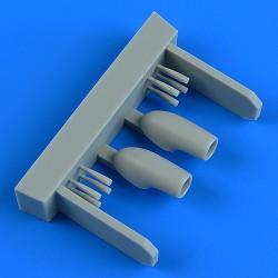EDUARD EX625 1/48 Masking Tape F-14D Tface For Tamiya