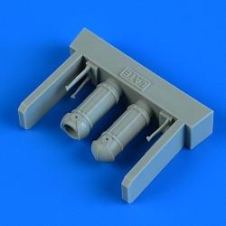 EDUARD EX639 1/48 Masking Tape B-25G masks For Italeri
