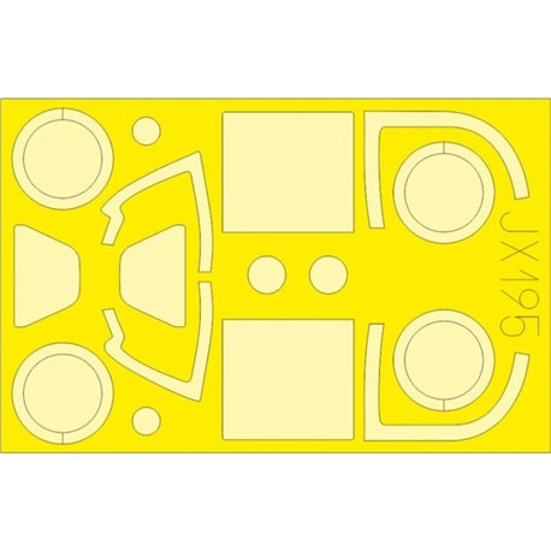 EDUARD JX195 1/32 Masking Tape Yak-3 For Special Hobby