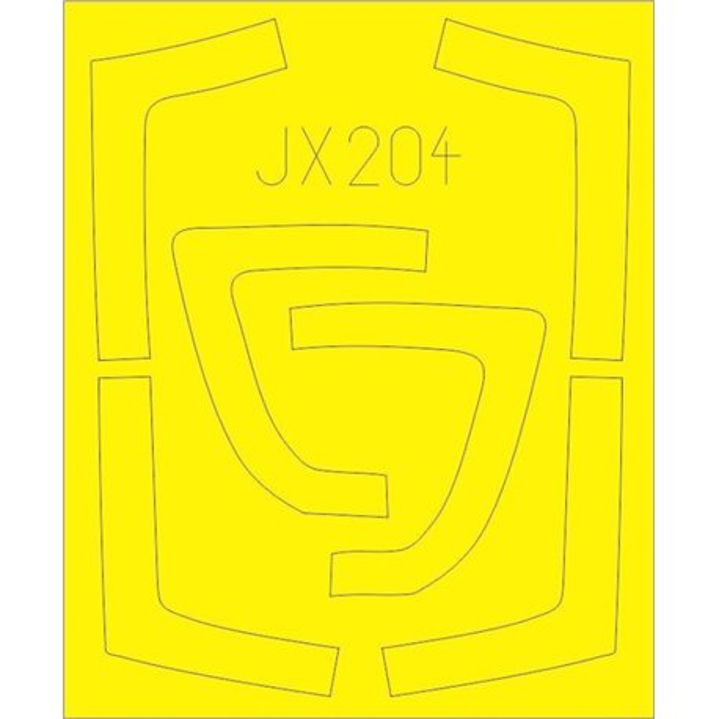EDUARD JX204 1/32 Masking Tape JX204 For Trumpeter