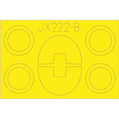 EDUARD JX222 1/32 Masking Tape TF-104G For Italeri
