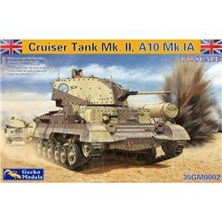 GECKO MODELS 35GM0002 1/35 Cruiser Tank Mk. II, A10 Mk.IA