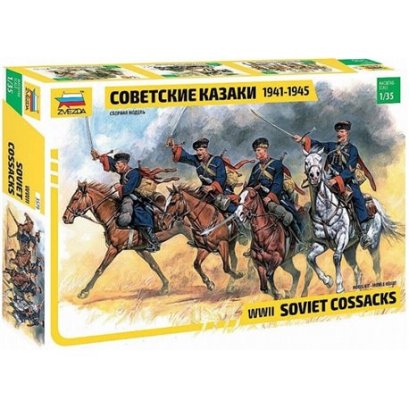 ZVEZDA 3579 1/35 Soviet Cossacks WWII