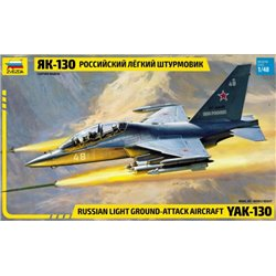 ZVEZDA 4821 1/48 YAK-130 Russian Light Ground-Attack Aircraft
