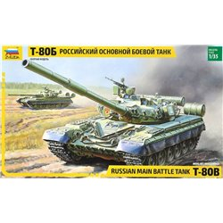 ZVEZDA 3590 1/35 Russian Main Battle Tank T-80B