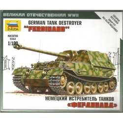 "ZVEZDA 6195 1/100 German Tank Destroyer ""Ferdinand"""