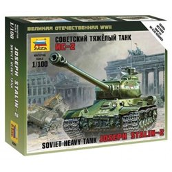 ZVEZDA 6201 1/100 Art of Tactic: IS-2 Heavy Soviet Tank WWII