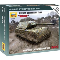 "ZVEZDA 6213 1/100 German superheavy tank ""Maus"""