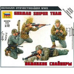 ZVEZDA 6217 1/72 Art of Tactic German Sniper Team