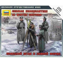 ZVEZDA 6232 1/72 German HQ Winter