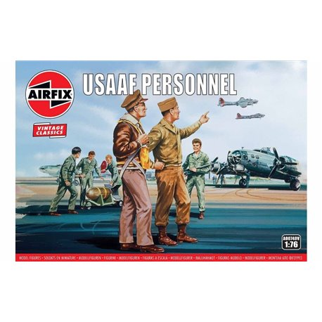 AIRFIX A00748V 1/72 USAAF Personnel