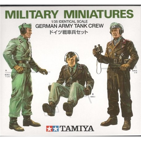 TAMIYA 35001 1/35 German Army Tank Crew