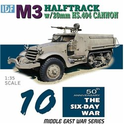 DRAGON 3598 1/35 IDF M3 w/20 mm Hispano-Suiza HS .404 cannons