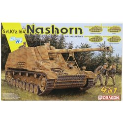 DRAGON 6459 1/35 Sd.Kfz.164 Nashorn 4 in 1