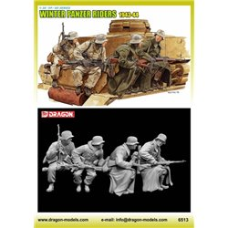 DRAGON 6513 1/35 Winter Tank Riders 1943-44