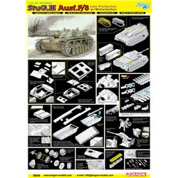 DRAGON 6644 1/35 StuG.III Ausf.F/8 Late Production (w/Winterketten)