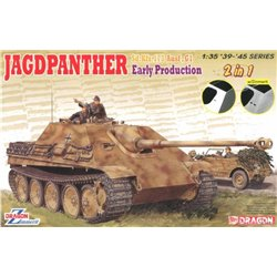 DRAGON 6758 1/35 Jagdpanther Ausf. G1 Sd.Kfz. 173 Early Production w/Zimmerit