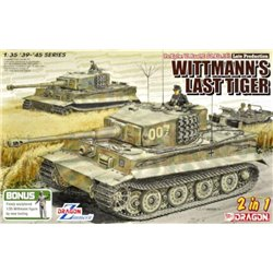 DRAGON 6800 1/35 Wittmann's Last Tiger