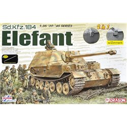 DRAGON 6871 1/35 Sd.Kfz.184 Elefant (2 in 1)