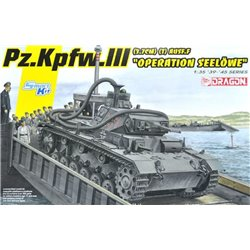"DRAGON 6877 1/35 Pz.Kpfw.III Ausf.F (3,7cm) (T) ""Operation Seelöwe"""