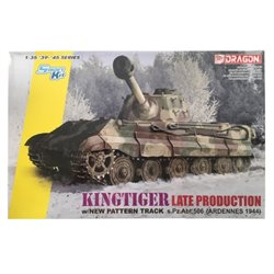 DRAGON 6900 1/35 Kingtiger Late Production w/New Pattern Track Ardennes 1944