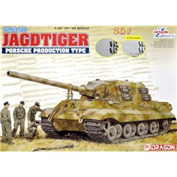 DRAGON 6925 1/35 Sd.Kfz.186 Jagdtiger Porsche Production Type (2in1)