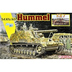 DRAGON 6935 1/35 Sd.Kfz.165 Hummel Early/Late Production (2 in 1)