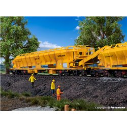 KIBRI 16150 HO1/87 Collecteur de Ballast - Ballast collector MFS 100