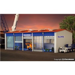 KIBRI 39212 HO1/87 Garage – Vehicle hall