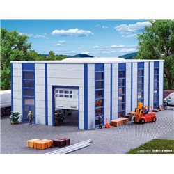 KIBRI 39250 HO1/87 Entrepôt Industriel – Warehouse / Industrial hall, modern