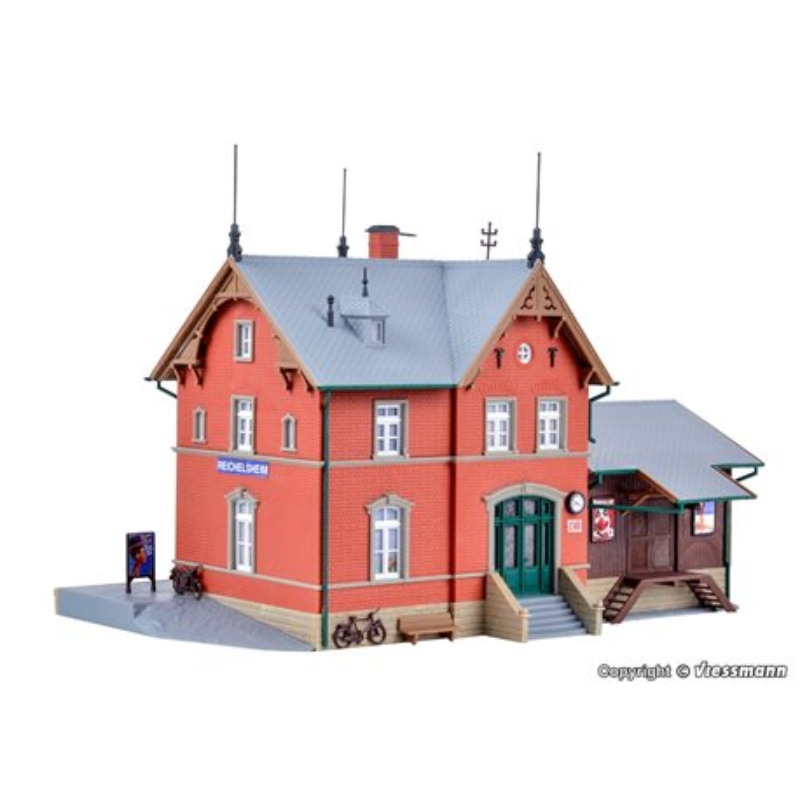 KIBRI 39492 HO1/87 Gare – Station Reichelsheim