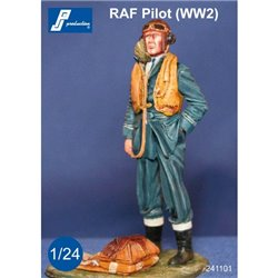 PJ Production 241101 1/24 Pilote RAF debout (2GM)