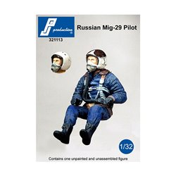 PJ Production 321113 1/32 Russian Mig-29 pilot seated in a/c