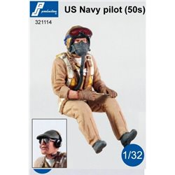 PJ Production 321114 1/32 Pilote US Navy (50')