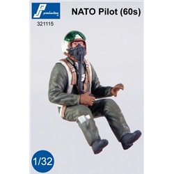 PJ Production 321115 1/32 Pilote OTAN (60')