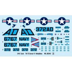 PJ Production 481128 1/48 Pilote US avec casque JHMCS (assis aux commandes)