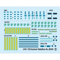 PJ Production 481214 1/48 AIM-9B Sidewinder avec supports