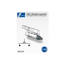 PJ Production 481218 1/48 Lance roquettes LRF 2 avec pylône