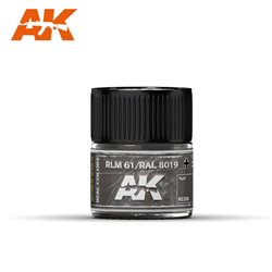 AK INTERACTIVE RC268 RLM 61 / RAL 8019 10ml