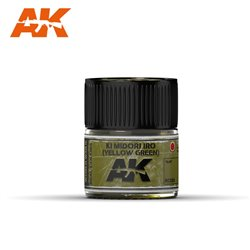 AK INTERACTIVE RC333 IJA 29 KI MIDORI IRO (YELLOW-GREEN) 10ml