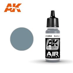 AK INTERACTIVE AK2284 BATTLESHIP GRIS - GREY 17ml