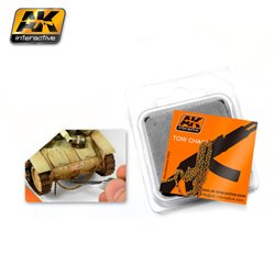 AK INTERACTIVE AK230 CHAINE ROUILLEE - RUSTY TOW CHAIN MEDIUM