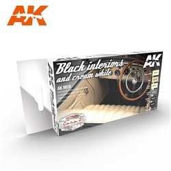 AK INTERACTIVE AK9010 BLACK INTERIORS AND CREAM WHITE