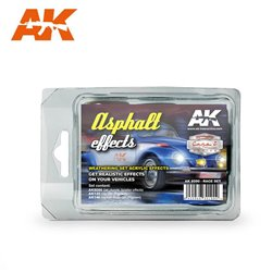 AK INTERACTIVE AK8090 ASPHALT EFFECTS (RACE SET)