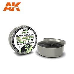 AK INTERACTIVE AK8076 CAMOUFLAGE ELASTIC PUTTY 80gr